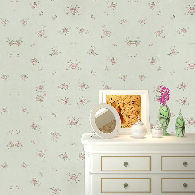 Small Fresh Flower Wallpaper Living Room Background Wall General Wallpaper 30130 Inwallpapers