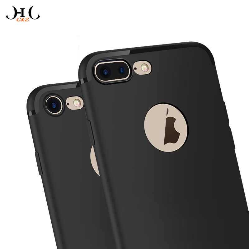 HCCZ latest style High quality TPU Matte soft silicone case for iPhone 6 6S 7 Plus 5 5S SE Frosted Elegance dustproof Phone case(China (Mainland))