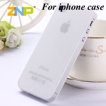 0.3mm Ultra thin matte Case cover skin for iPhone 4 4S Translucent slim Soft plastic Free Shipping Cellphone Phone case