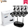 4CH wireless NVR Kit 4pcs HD 1 0MP wifi ip camera ONVIF2 0 supports Plug and