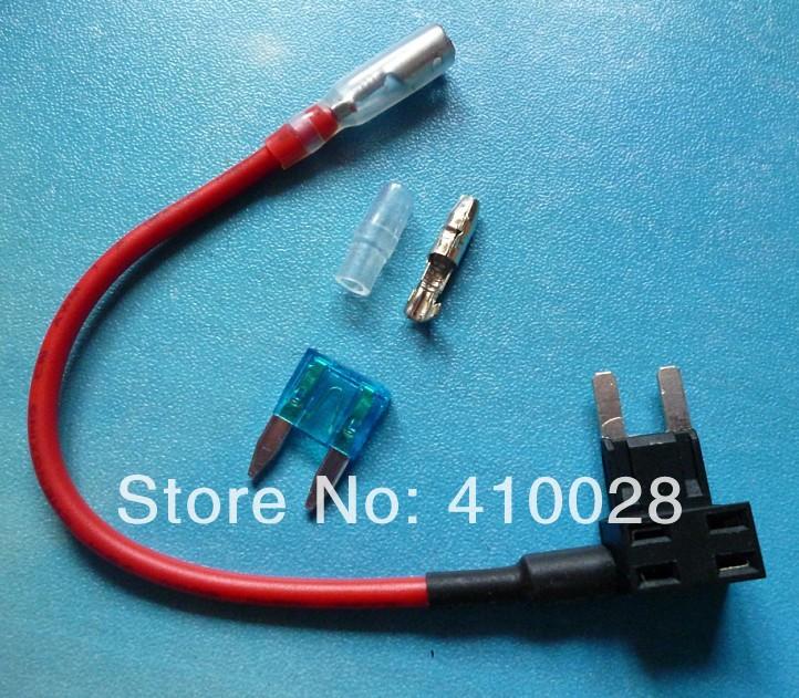 100pcs-Add A Circuit Fuse Tap Piggy Back MINI Blade Fuse Holder ATM APM 12v 24v 12 volt<br><br>Aliexpress