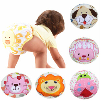 3pcs/set Baby Training Pants Infant Cotton Washable Waterproof Reusable Ecological Diapers Boy Girl Underwear Free shippingT3348(China (Mainland))