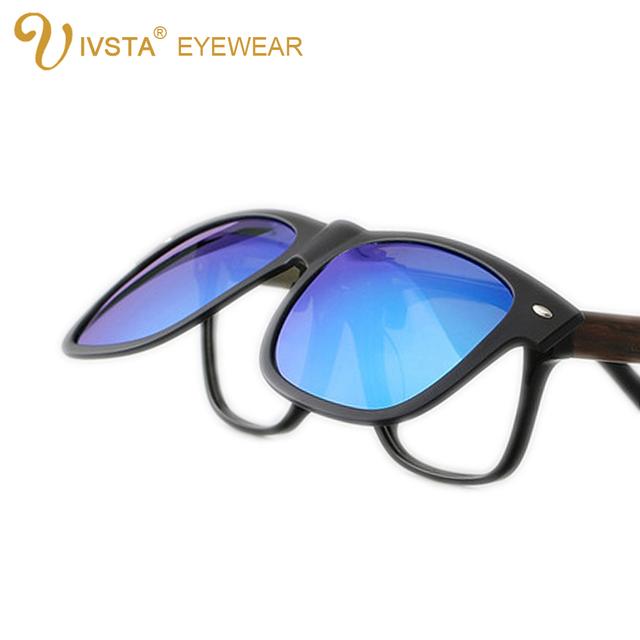 Ivsta JP806 2016 новые интересные линзы клип на солнцезащитные очки мужчины клипы ...