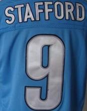 Calvin Johnson Jersey, Matthew Stafford Jersey, Eric Ebron Golden Tate Ziggy Ansah Barry Sanders Jersey(China (Mainland))