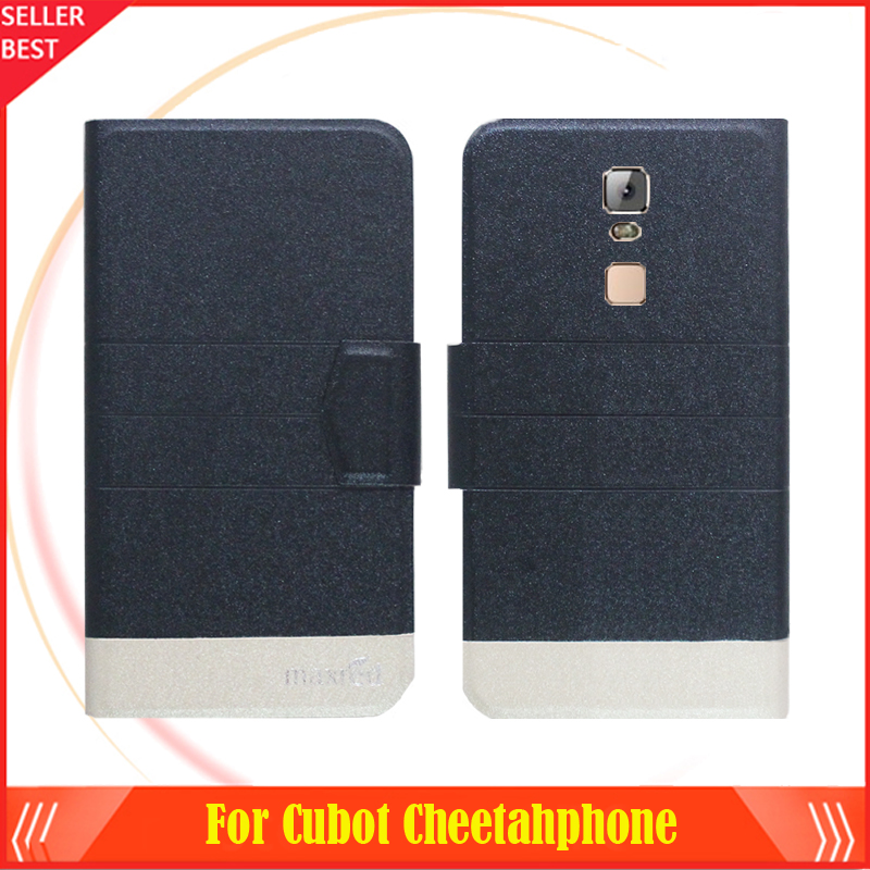 5 Colors Hot!!Cubot Cheetahphone Luxury Leather Exclusive For Cubot Cheetahphone Slip-resistant Phone Cover +Tracking