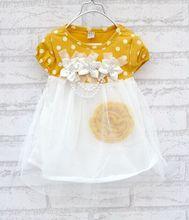 2014summer New Children clothing-baby girls clothes kids tutu dress girl dress Free&Drop Shipping(China (Mainland))