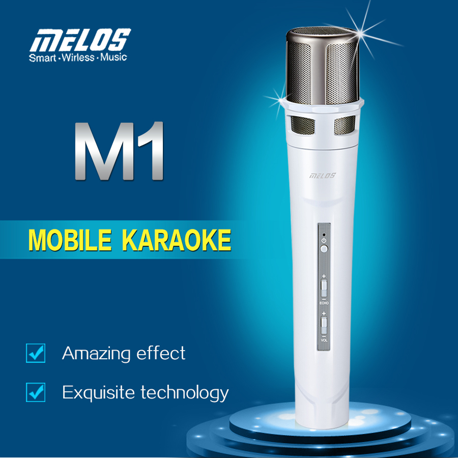 2015 Professional Mobile Phones Singing Recording Smart Phone KaraoKe Microphone for Pad Smartphone M1(China (Mainland))
