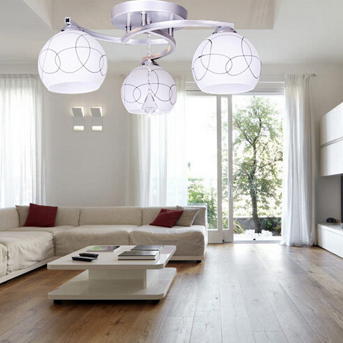 ... Living Room Light Modern Ceiling Lamp Light Fittings-in Ceiling Lights