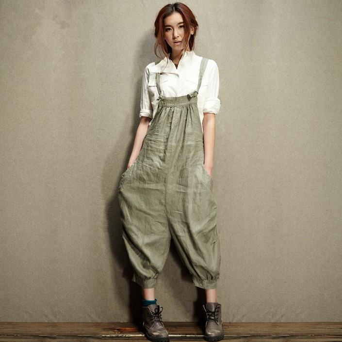 TIC-TEC new arrival Plus size woman calf-lenght pant design fashion unique Leisure Trousers suspender trousers overalls P2330Одежда и ак�е��уары<br><br><br>Aliexpress