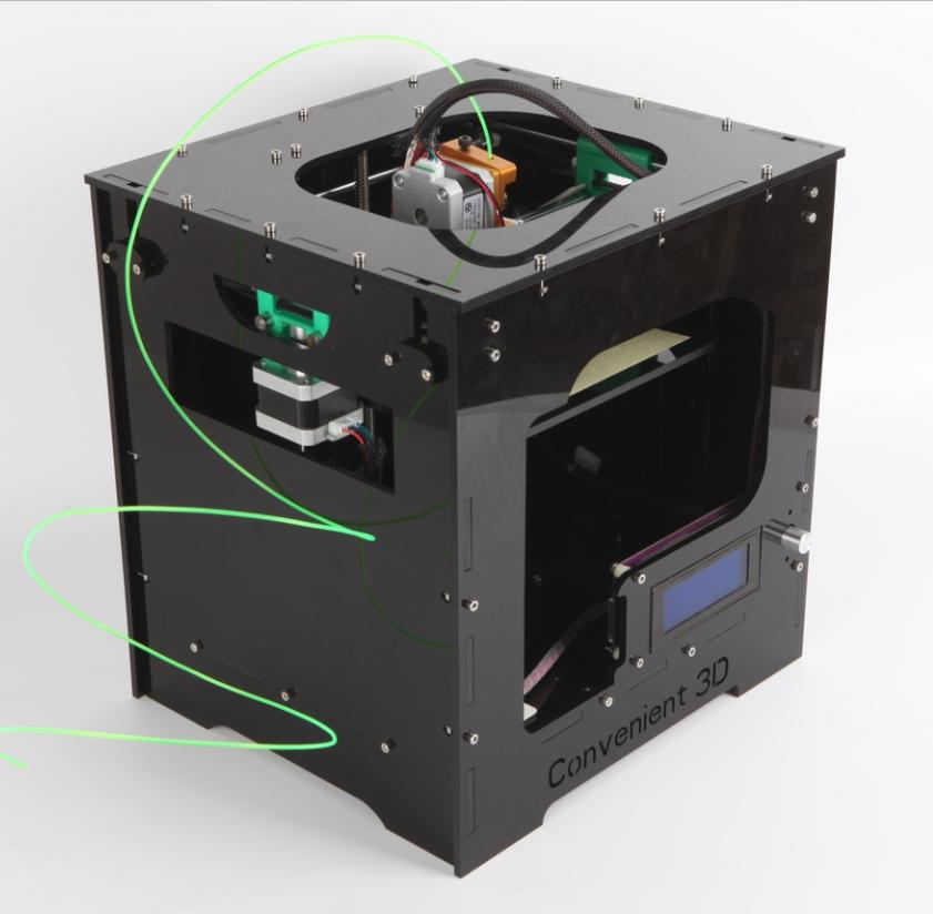 Купить Deluxe Edition 3D акриловые 3D принтер принтер для рабочего удобный новый список цена промотирования