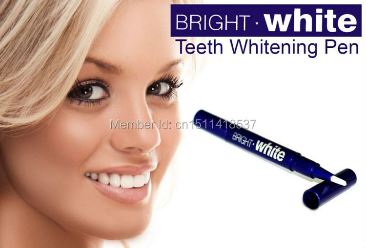 Teeth Whitening Pen Tooth Gel Whitener Bleaching System Stain Eraser Remove Instant Free Shipping 1 pc plastic(China (Mainland))