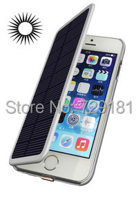 Solar battery case 4200mah Mobile phone Backup Power bank External Battery Charger case for iphone 6 plus Compatible ios8(China (Mainland))