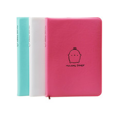 """Molang Rabbit"" 2015 Cute Diary Any Year Planner Pocket Journal Kawaii Notebook Agenda Scheduler Memo Korean Designed Gift(China (Mainland))"