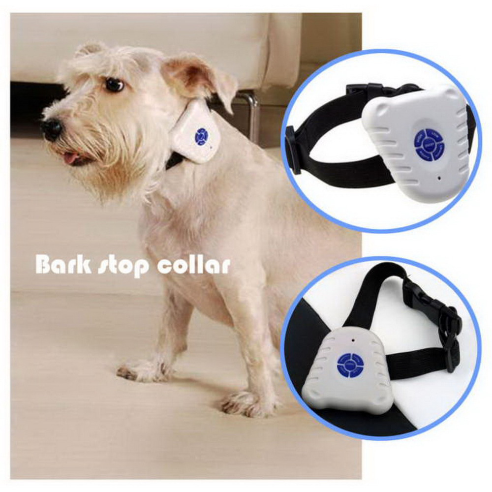 Ultrasonic Bark Stop Dog Training Collar barking pet