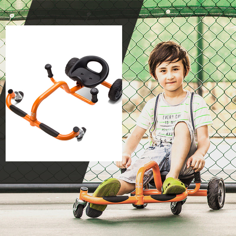 Four Wheels Foot Twister Children Swing Car Kids Twist & Go Bicycle for 2-6 Years Baby Ride on Toys Outdoor Drift Trike(China (Mainland))