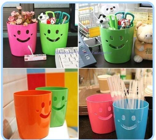 20 stuks kawaii smiley gezichten bureau prullenbak bin for Bureau kawaii