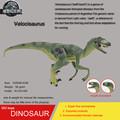Hot toys green Velocisaurus Simulation model Jurassic park dinosaur action figure Souptoy new genuine