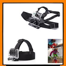 Adjustable Chest Mount Harness Strap Belt + Head Strap Belt for HD Hero 4 3+ 3 1 2 SJ4000 SJ5000 Sport Camera GoPro Accessories