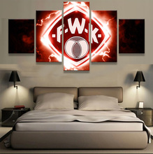 Buy 5p Wurzburger Kickers Sports Team Fans Oil Painting Canvas Modern Home Pictures Prints Liveing Room Deco Fans Posters gg071 for $10.00 in AliExpress store
