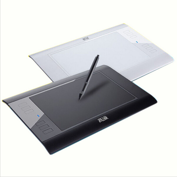 Promotion Gaomon 860T Drawing Tablet Digital Tablets Graphic Pen Tablet USB Extend to 64GB TF Card Black and White<br><br>Aliexpress