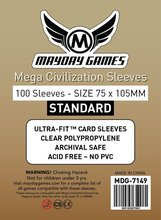 Buy 200 Sleeves Mayday Card Sleeve 75*105 mm Mega Civilization Card Game Protector Board Game Sleeve 7149 for $14.89 in AliExpress store