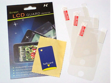 3pcs/lot ULTRA CLEAR LCD Screen Protector for Apple iPhone 4 4S