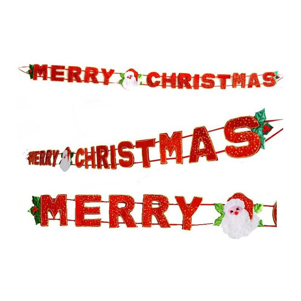"""1.6meter HandMade """"MERRY CHRISTMAS"""" Banner Christmas Decoration Banner Winter Colors Banners(China (Mainland))"""