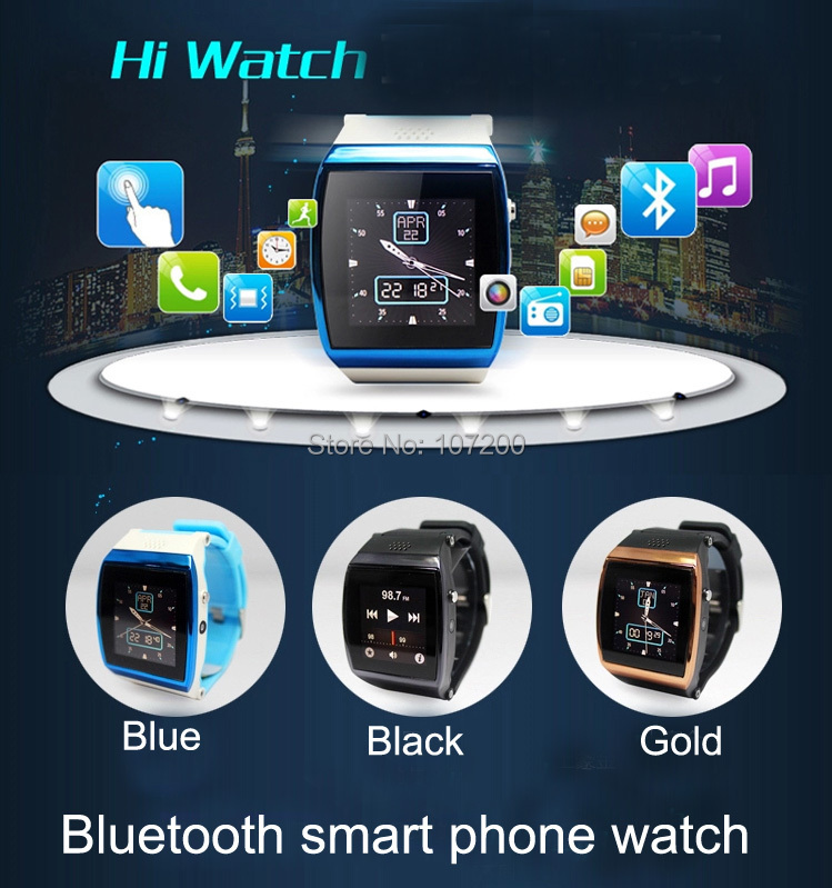Lino Bluetooth Smart Watch WristWatch hi Android IOS iphone Samsung Galaxy HTC , 2014 top 10 smart bluetooth watch - Electronics Mall store
