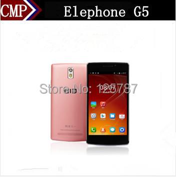 Original Elephone G5 Mobile Phone MTK6582 Quad Core Android 4.4 5.5 Inch IPS 1280X720 1GB RAM 8GB ROM 13.0MP OTG G5 Phone(China (Mainland))