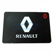 Car accessories Phone Key GPS Holder Anti Slip Mat Non-Slip MatPerfume mat Universal Car Non-slip Mats for Renault