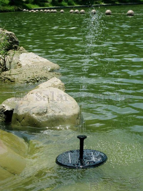 Mini Solar fountain pump Water pump system for pool decorative Free shipping