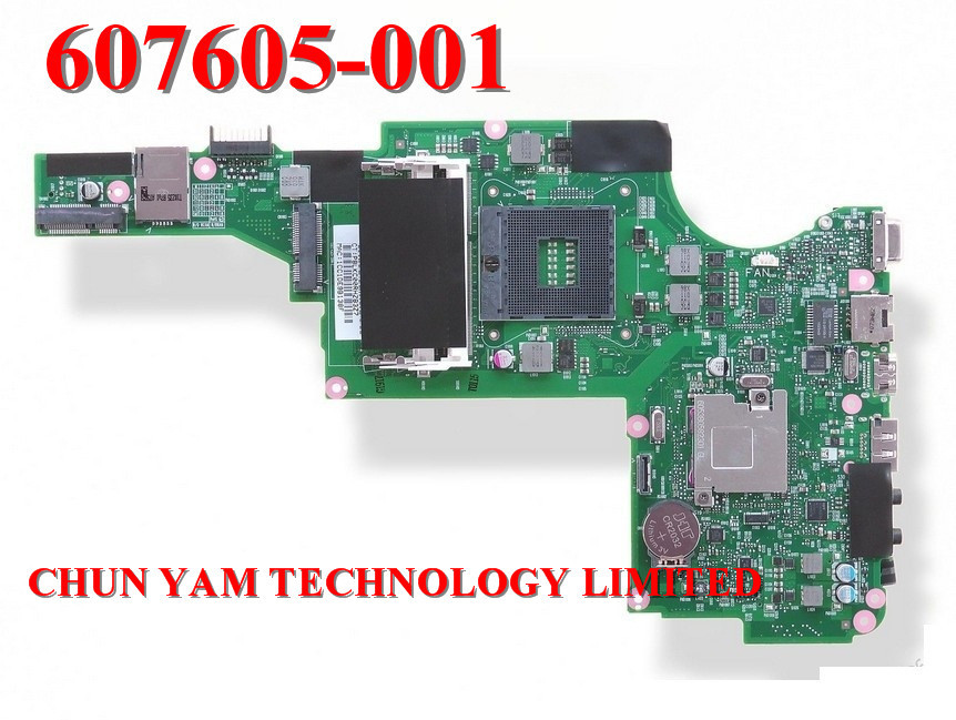 NEW Original motherboard 607605-001 laptop Notebook system board FOR HP PAVILION DV5 DV5-2000 SERIES 90 Days Warranty TESTED(China (Mainland))