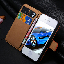 Luxury Wallet Flip Genuine Leather Case for iphone 6 i6 Retro Stand Cover for iphone6 , 4.7″ inch, Phone Bags Pouch 2015 New
