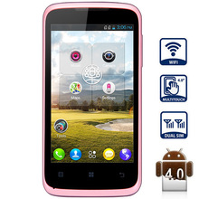 Lenovo A376 Smartphone with SC8825 1.2GHz Android 4.0 4GB ROM WiFi 4.0 inch WVGA Screen