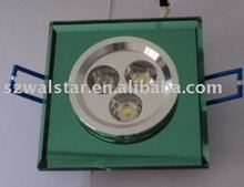 3w crystal high power LED ceiling spot light CE&ROHS(China (Mainland))