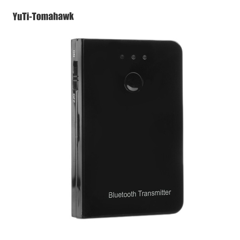 Portable Stereo Music Bluetooth 2.1+EDR Transmitter Wireless Audio Adapter Cell Phone Tablet PC TV MP3 Speaker Free drive - YuTi-Tomahawk store