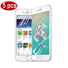 Free Shipping 5PCS Ultra-Thin Protective Film for iphone 6 4.7inch 2.5D 0.26mm HD Protective Film Clear Front Screen Protector