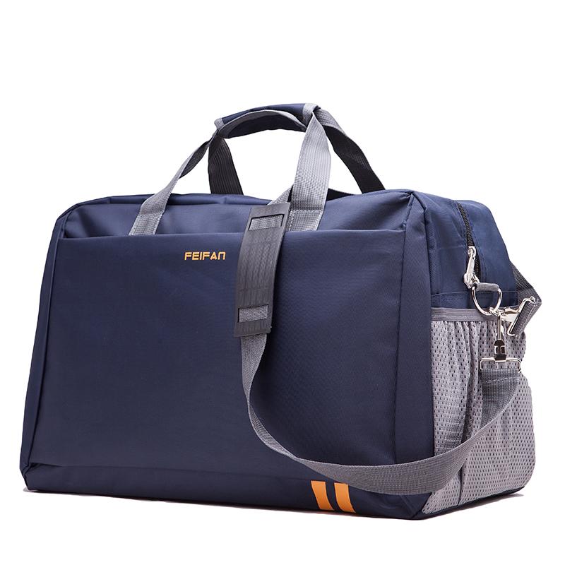storage bag,big style,bag best for travel,men and women bag,blue bag,L,Large capacity(China (Mainland))