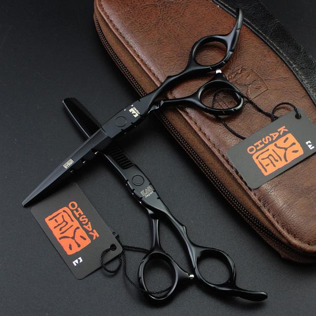 Новый 2 шт. Kasho 5.5 дюймов или 6.0 дюймов 6 дюймов Ножницы Pro Tesoura Парикмахерских ...