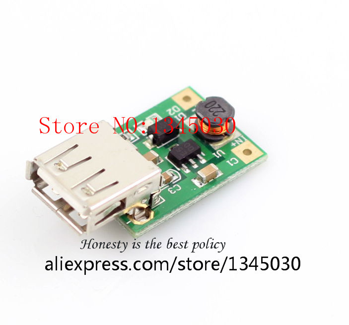 DC-DC step-up module 1V-3V 5V boost regulator circuit board DIY boost mobile phone power FREE SHIPPING(China (Mainland))