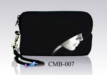 Hoody Lady  Soft Neoprene Case Bag Pouch For Digital Camera Cell Phone Itouch Iphone 4S