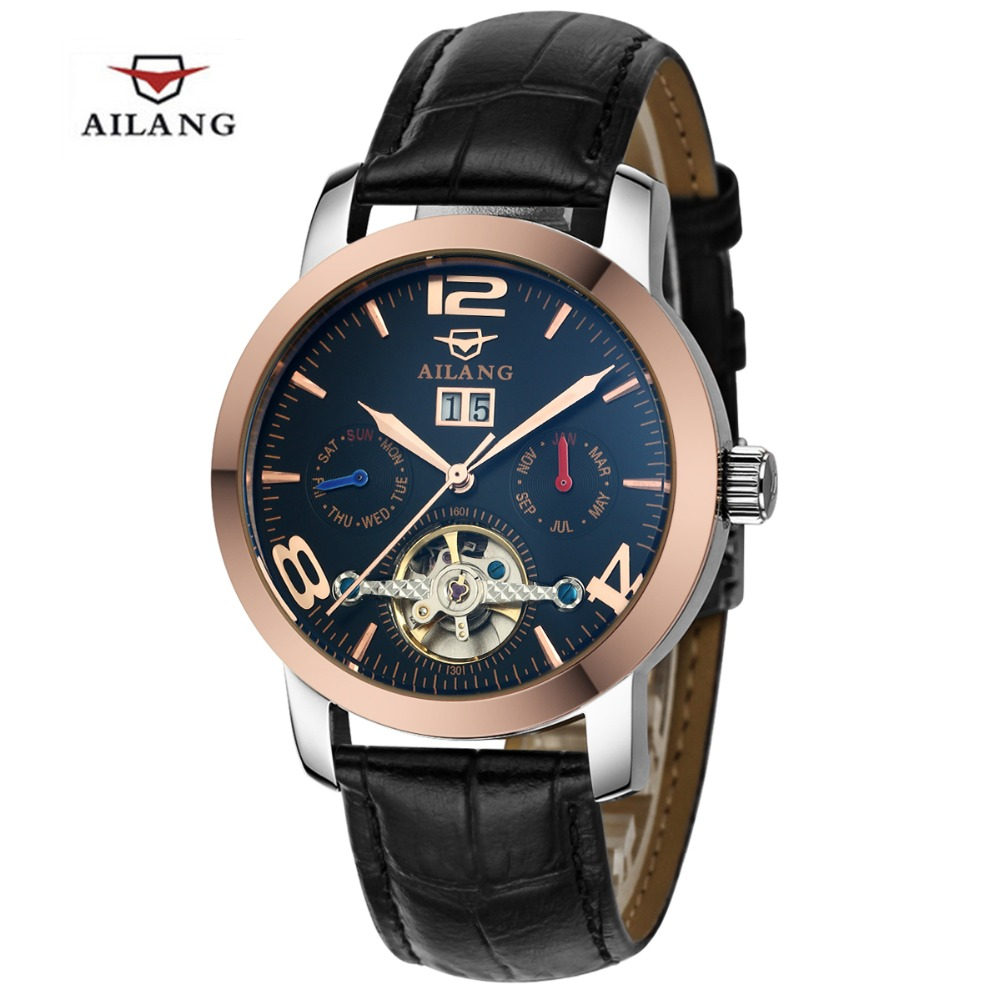 high quality ailang mens watches tourbillon automatic