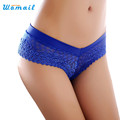 Amazing Sexy Panties Women Low Waist Lace Thongs and G Strings Underwear Ladies Hollow Out Underpants
