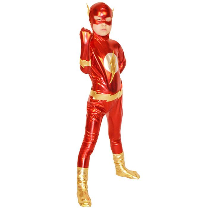 Flash Costume Kids Boys Men Cosplay Superhero