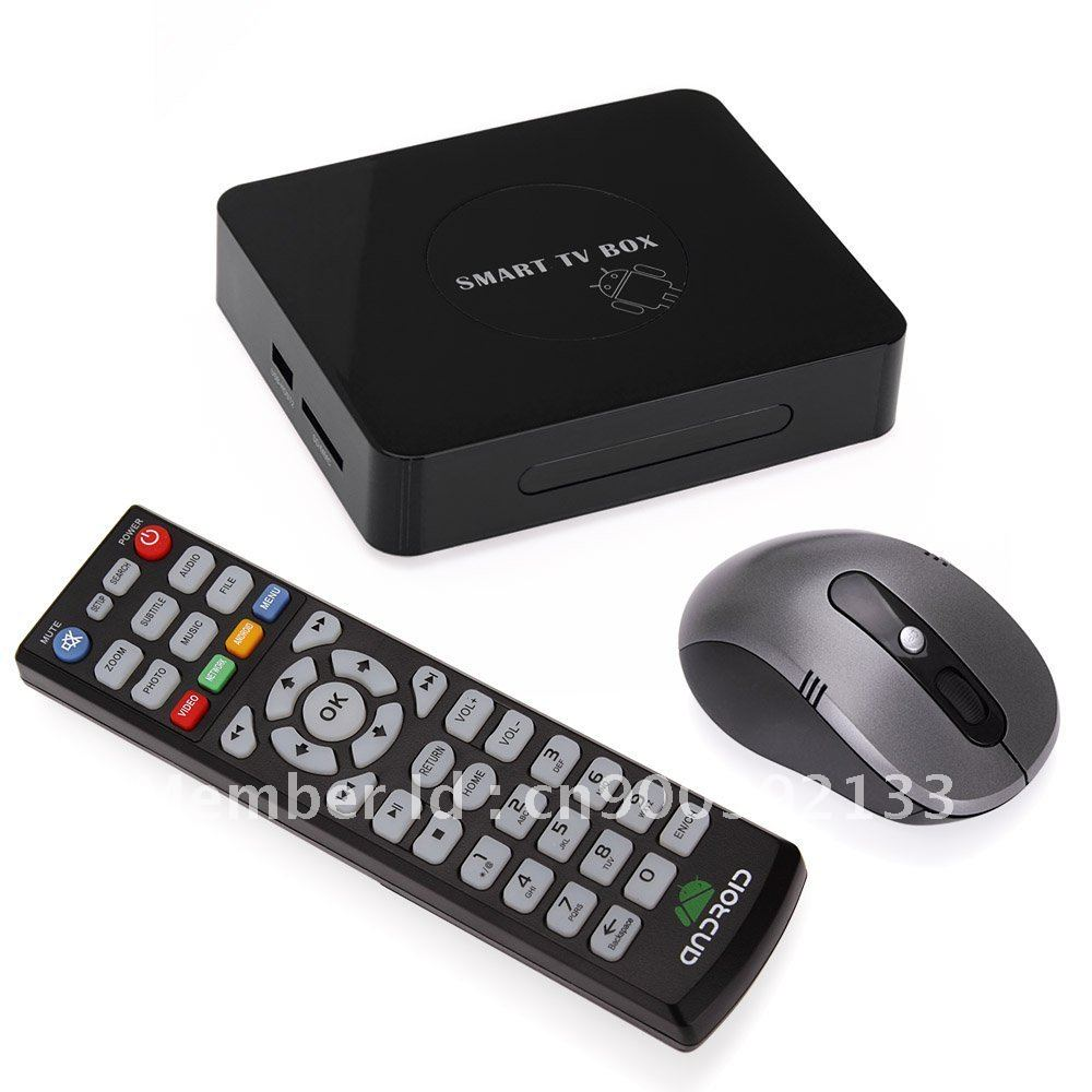 buy google android 4 0 smart tv box 1080p multimedia player smart internet tv. Black Bedroom Furniture Sets. Home Design Ideas