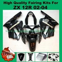 Buy Free screws+gifts Black J2134 Fairing kit KAWASAKI Ninja ZX12R 02 03 04 05 ZX 12R 2002 2004 2005 Fairings set for $376.20 in AliExpress store