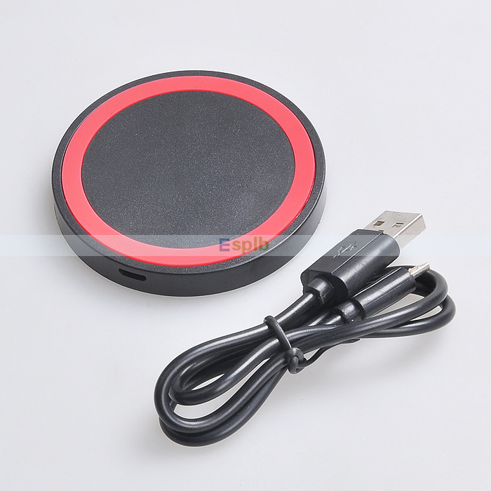 Зарядное устройство для мобильных телефонов ESPLB Q5 Pad USB/& USB iPhone Samsung Lumia 920 820 LG Nexus 4 Nexus 5 зарядное устройство для мобильных телефонов 1 100% nexus 4 nexus 5 nokia lumia 920 samsung s3 s4 s5 note2 note3 iphone 4 4s 5s 6 cc 1403