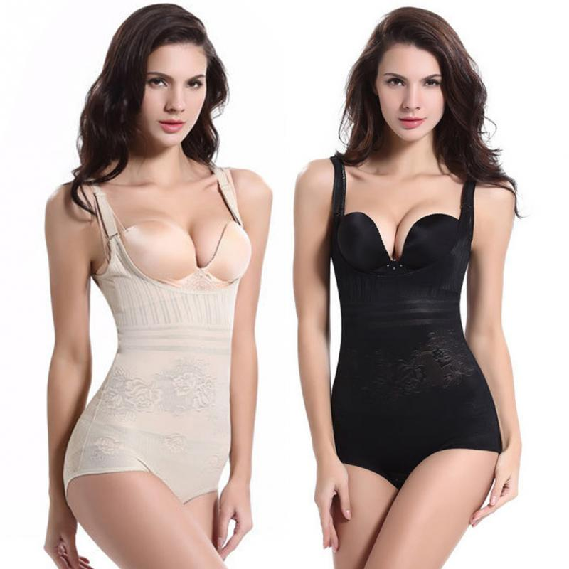 Plus Size Sexy Women Bodysuits Slimming Bodysuit Body Shaper Magic Underbust Adjustable Straps Body Shaping Bodysuit(China (Mainland))