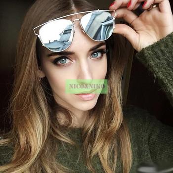 Розовый цвет прибыл 2015 новый обертывание кошачий глаз покрытие очки очки старинные мода прохладно солнцезащитные очки женщинами мужчинами модной óculos