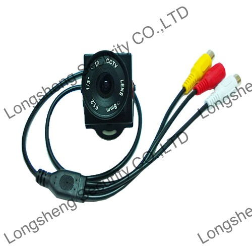 Sony Effio-E CCTV camera 700TVL 8mm Board Audio security camera surveillance System(China (Mainland))